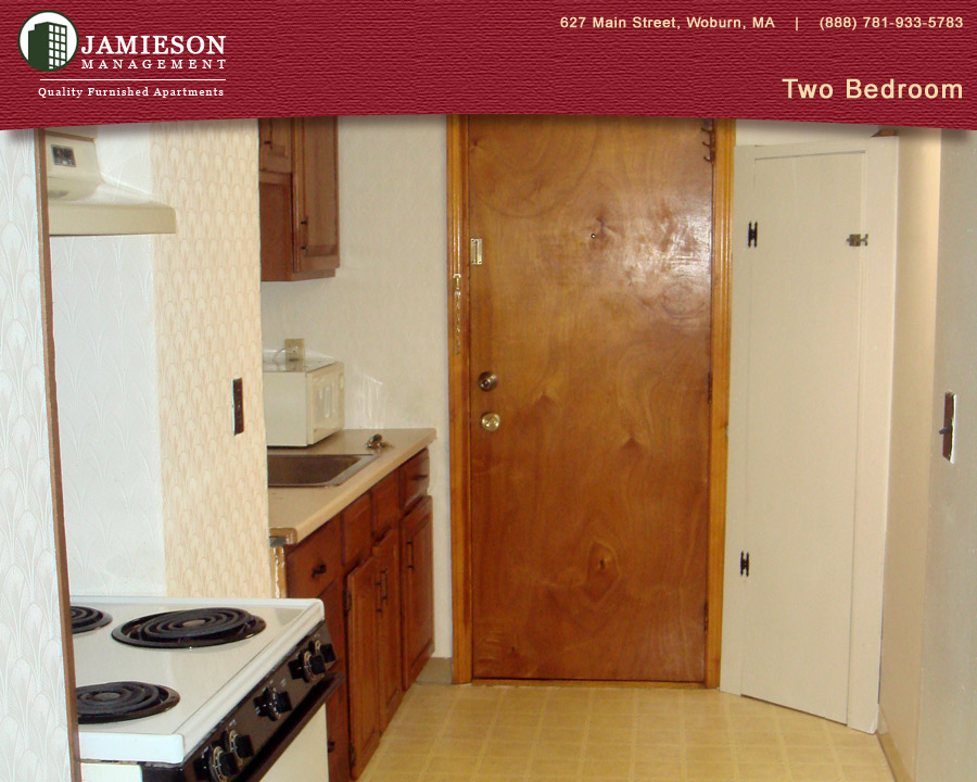 Furnished Apartments Boston Two Bedroom 14 Federal Street Woburn Ma Jamieson Management