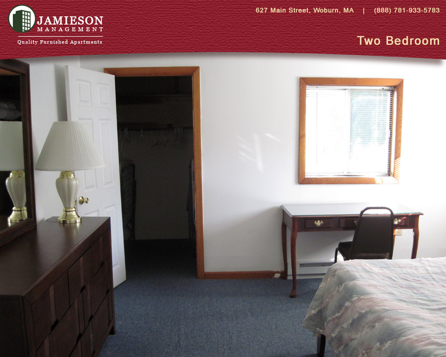 Furnished Apartments Boston | One Bedroom Apartment | 25 Cleveland Ave |  Woburn, MA | Jamieson Management Company, Inc.