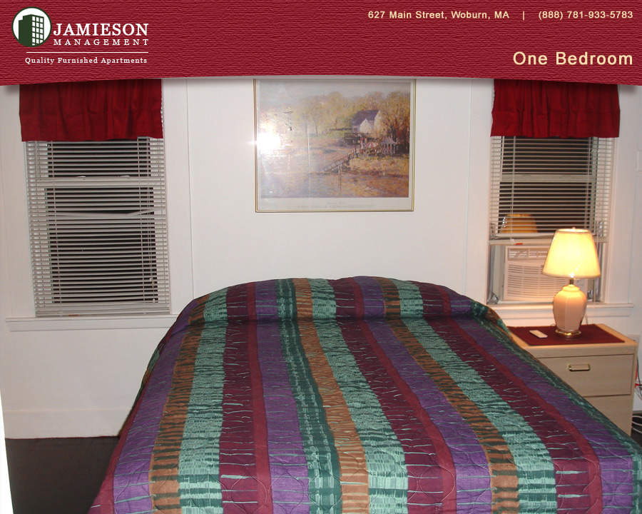 Furnished Apartments Boston One Bedroom Apartment 3 7 Burlington Street Woburn Ma