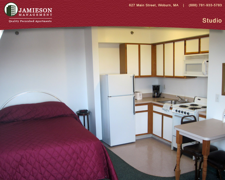 Furnished Apartments Boston | Studio Apartment |44 Montvale Ave | Woburn,  MA | Jamieson Management Company, Inc.