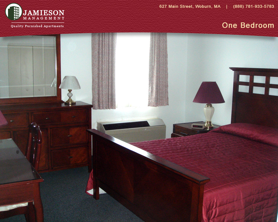Furnished Apartments Boston | One Bedroom Apartment | 44 Montvale Ave |  Woburn, MA | Jamieson Management Company, Inc.
