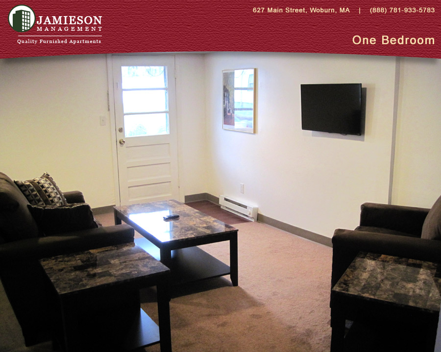 Furnished Apartments Boston One Bedroom Apartment 48 54 Salem Street Woburn Ma Jamieson