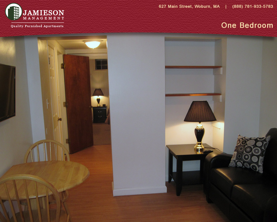 Furnished Apartments Boston One Bedroom Apartment 627 Main Street Woburn Ma Jamieson