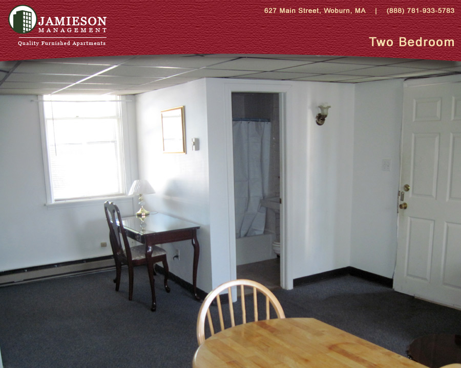 Furnished Apartments Boston Two Bedroom Apartment 627 Main Street Woburn Ma Jamieson