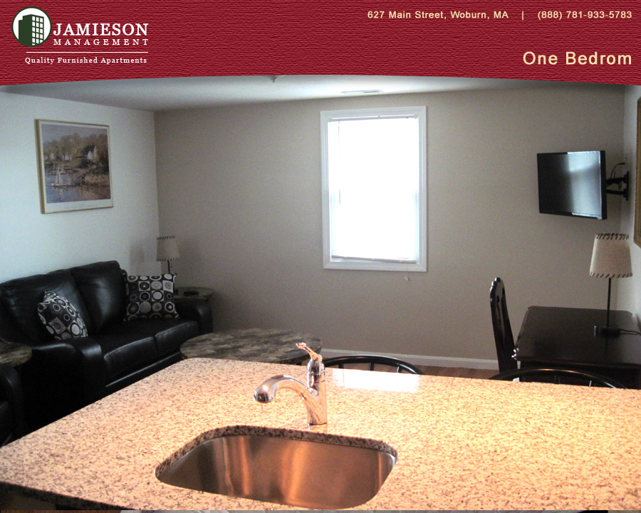 furnished apartments boston one bedroom apartment 79 montvale ave