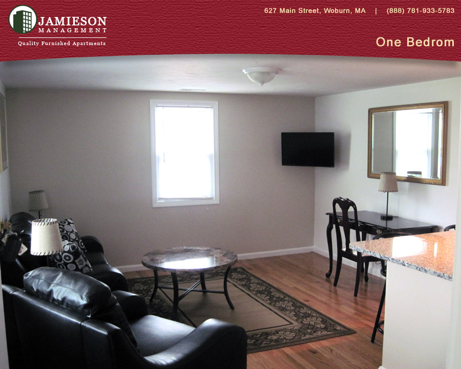 Furnished Apartments Boston One Bedroom Apartment 79 Montvale Ave Woburn Ma Jamieson