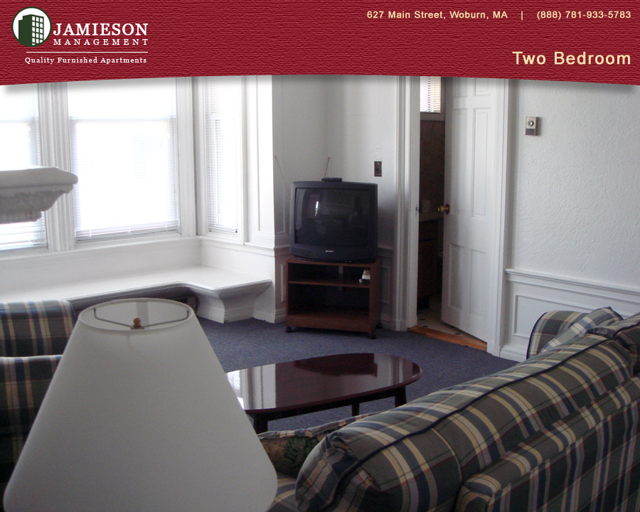 Furnished apartments boston two bedroom apartment 79 montvale ave woburn ma jamieson for One and two bedroom apartments