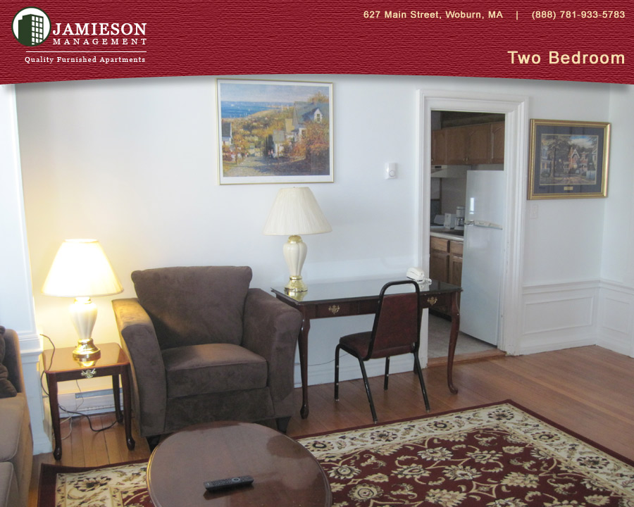 Furnished Apartments Boston | Two Bedroom Apartment | 79 Montvale Ave |  Woburn, MA | Jamieson Management Company, Inc.