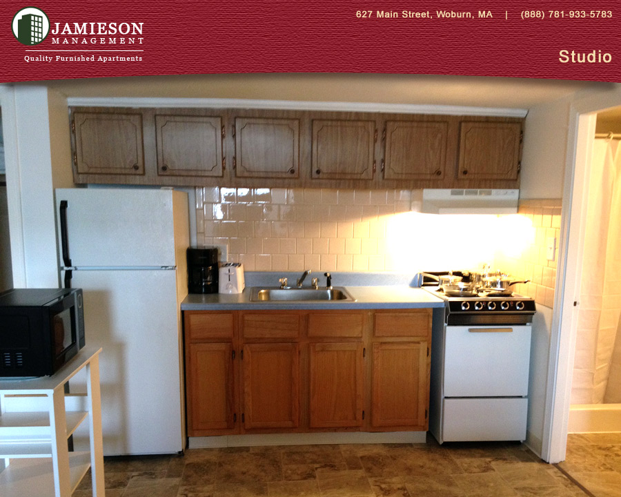 Furnished Apartments Boston | Studio Apartment | Winn Park | Woburn, MA |  Jamieson Management Company, Inc.
